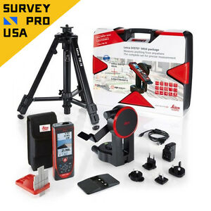 Leica Disto S910 Laser Distance Meter 300m Bluetooth Camera Touch Pro Kit 806677