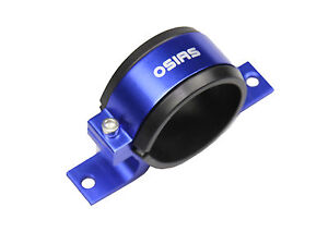 New Fuel Pump Mounting Bracket Single Filter Clamp Cradle Bosch 044 60mm Blue