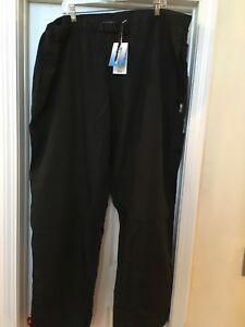 Kng Ac Active Chef Black Chef Pants Size 3xl Nwt