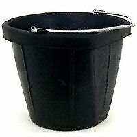 Fortex Flat Side Feed Bucket For Horses 18 quart