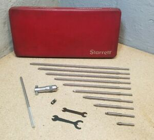 Starrett No 124 Inside Micrometer 2 12 With Original Protective Case