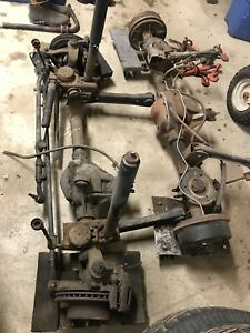 Jeep Wrangler Tj Oem Differential Front Rear Complete Axle Dana 30 35 3 55