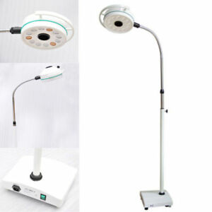 36w Dental Mobile Led Exam Light Surgical Medical Shadowless Lamp Us Stock