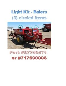 Work Light Kit For New Holland case Small Square Balers 87740471