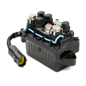 new Motor Power Trim Relay 2 Pin For Yamaha Outboard 4 Stroke Engine 40 90hp