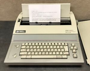 Smith Corona Typewriter word Processor Pwp 3850 Model 5f Excellent Condition