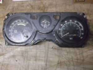 1970 81 Trans Am Firebird Gauge Speedometer 100 Mph 6k Tach Quartz Clock 2