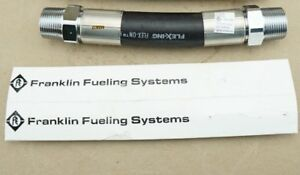3 New Franklin Fueling Systems Flhfr300009 9 Black Hardwall Hose Fixed Ends
