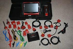 Snap On D10 Verus Pro V15 4 Wireless Diagnostic Scanner System Cables Htf Case
