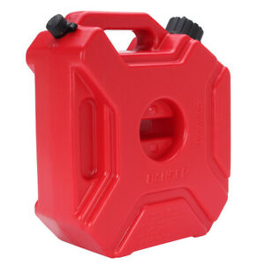 new 5l Portable Fuel Tank Plastic Jerry Can Diesel Motorcycle Gas Spare Contai