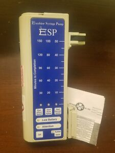 Esp Syringe Pump Excelsior Syringe Pump Patient Ready With 6 Month Warranty