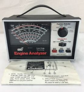Sears Solid State Electronic Engine Analyzer Model 161 214230
