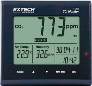 Extech Co100 Combustion Gas Analyzers Style Hand held O2 No
