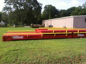 11x70 Portable Steel Deck Truck Scale W Guiderails