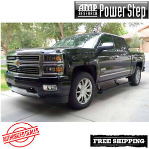 Amp Research Powerstep Running Boards 14 18 Silverado 1500 Ec Cc W Light Kit