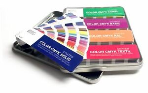 Set Color Cmyk Coated Pantone Textil Ral Basic Corel