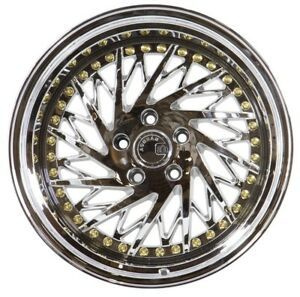18x9 5 15 18x10 5 22 Aodhan Ds3 5x114 3 Vacuum Chrome Fits Ford Mustang 350z