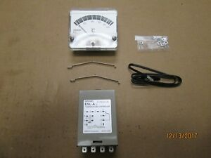 New Other Omron E5l a Temperature Controller W Probe Analog Meter 0 100 C
