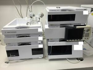 Agilent 6510a Tof Lc ms With An Agilent 1200 Lc