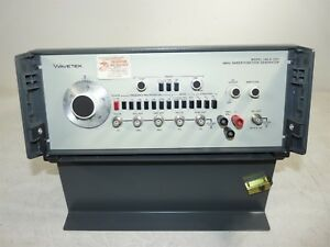 Wavetek 188 s 1257 4mhz Sweep function Generator Power Tested Only As is