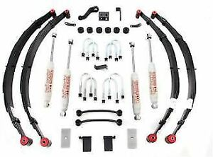 Trail Master 4 Inch Lift Kit 1987 1995 Jeep Yj W Ngs Shocks Manual Steering