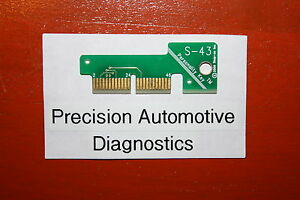 S 43 Personality Key For Snap On Scan Tool Mt2500 Mtg2500 Modis Solus Pro Verus