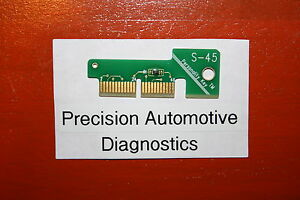 S 45 Personality Key For Snap On Scan Tool Mt2500 Mtg2500 Modis Solus Pro Verus