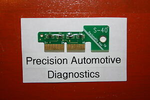 S 40 Personality Key For Snap on Scan Tool Mt2500 Mtg2500 Modis Solus Pro Verus