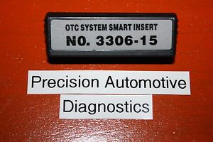 No 3306 15 Otc Genisys 4000 Enhanced Monitor Elite Scanner Scan Tool Insert Ssi