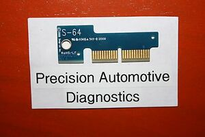 S 64 Personality Key For Snap on Scan Tool Mt2500 Mtg2500 Modis Solus Pro Verus
