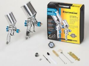 Devilbiss Startingline Hvlp Painting Touch Up Spray Gun Kit 802342