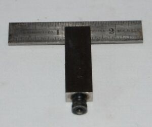 Starrett 2 1 2 No 14a Die Makers Double Square Machinist Tools Harden Steel Usa