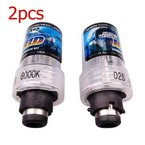 2x 35w Hid D2s Xenon Direct Replacement Car Headlight Beam Bulbs For Philips