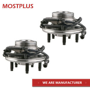 2x Front Complete Wheel Hub Bearing Assembly With Abs For Ford Explorer