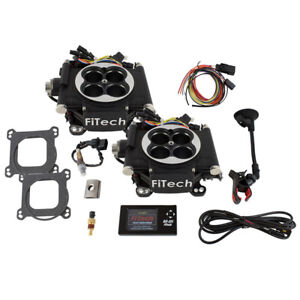 Fitech Fuel Injection System 30062 Go Efi 2x4 625 Hp Tbi Black