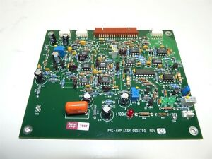 Sequoia Pre amp 9602750 Rev C Board Abbott Cell dyn 1800 Hematology Analyzer