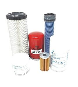 Kubota L3010 L3130 L3410 L3430 Hst Models Maintenance Filter Kit 06 Filters Fs