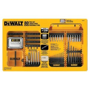Dewalt Dw2587 80 Piece Pro Drilling driving Set