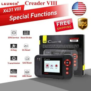 Launch X431 Creader Viii Diagnostic Scanner Tool Code Reader As Crp129 Crp123