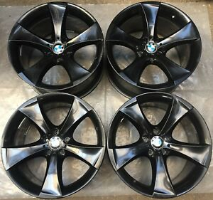 4 Bmw Styling 259 Alloy Wheels 10jx20 Et40 11jx20 Et37 6 X E71 E72 6778588