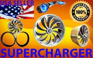 Fit For Volvo Turbo Air Intake Supercharger Engine Fan Kit Free Usa Shipping