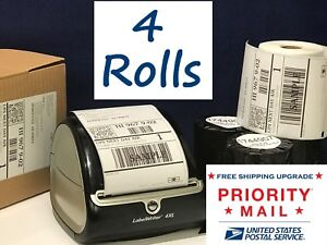 Dymo 4xl Labels Direct Thermal Shipping Labels 4 Rolls 4 x6 1744907 Compatible