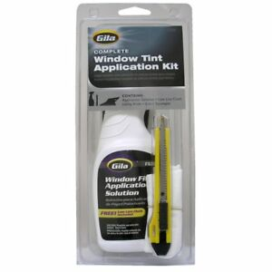 Cars Window Film Application Solution Tint Kit Rubber Squeeze Lint Cloth Clutte