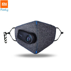 Xiaomi Purely Anti pollution Air Mask Smart Pm2 5 550mah Batteries Rechargeable