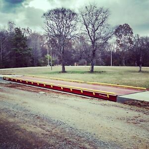used 70x11 Steel Deck Truck Scale Made In Usa