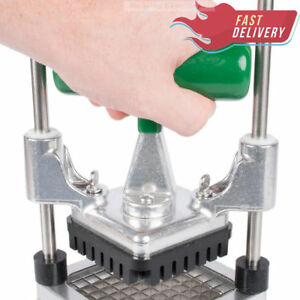 3 8 Commercial Vegetable Slicer Dicer Cutter Onion Tomato Mushroom Fruit Chopper