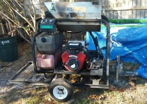 Used ramteq Just Serviced Hot Water Pressure Washer Trailer Mounted
