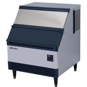 Commercial Heavy Duty Undercounter Ice Maker 250 Lbs Daily With Storage Bin
