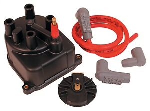 Msd Ignition 82903 Distributor Cap And Rotor Kit Fits 88 91 Civic Crx Integra