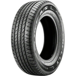 2 New Kelly Edge A S 215 55r17 Tires 55r 17 215 55 17
